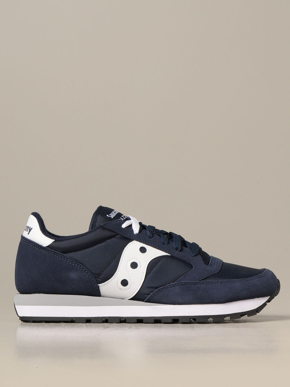 Sneakers Saucony: Sneakers Saucony in camoscio sintetico e nylon blue 1