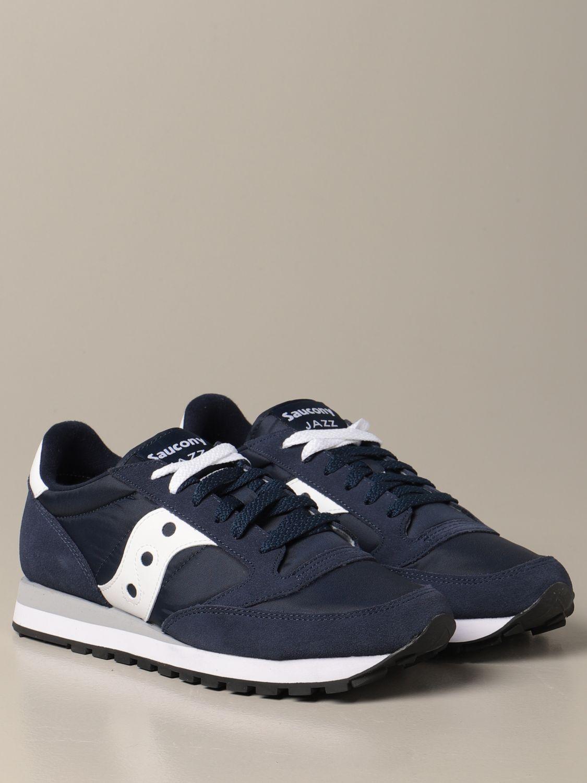 Sneakers Saucony: Sneakers Saucony in camoscio sintetico e nylon blue 2