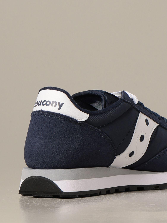 Sneakers Saucony: Sneakers Saucony in camoscio sintetico e nylon blue 3