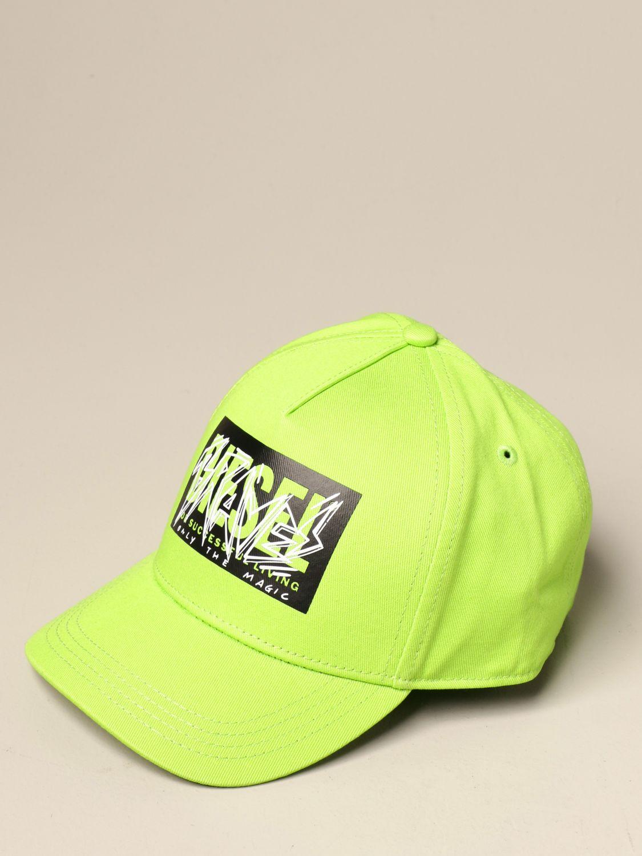 Gorro Diesel: Gorro niños Diesel verde lima 1