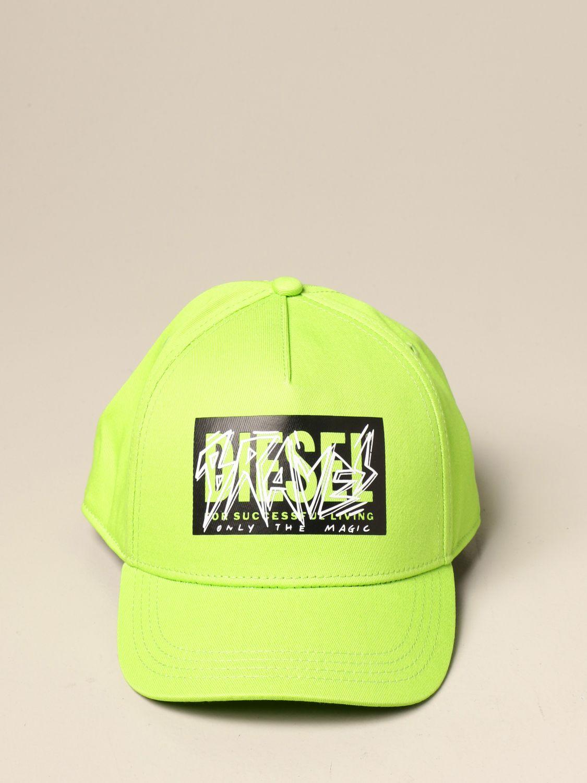 Gorro Diesel: Gorro niños Diesel verde lima 2
