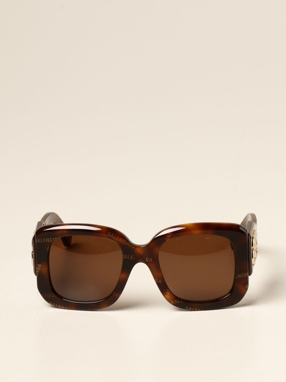 Солнцезащитные очки Balenciaga: Солнцезащитные очки Женское Balenciaga коричневый 2