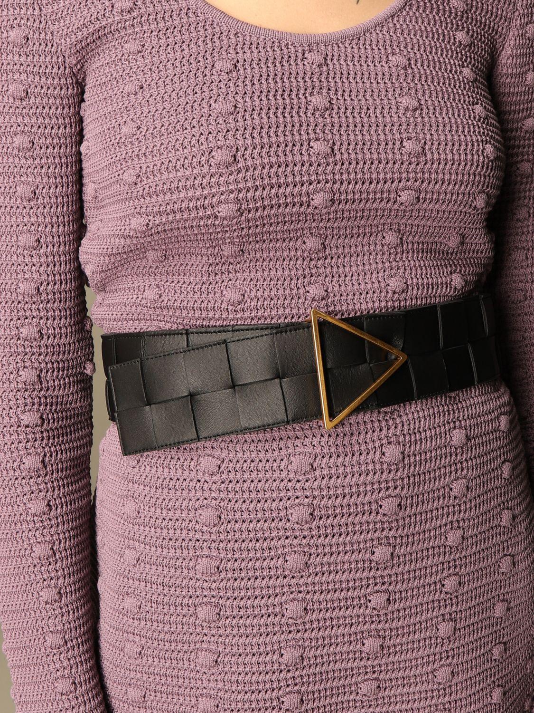 Gürtel Bottega Veneta: Gürtel damen Bottega Veneta schwarz 2