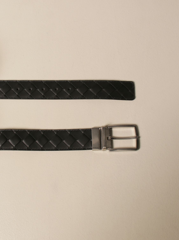 Belt Bottega Veneta: Bottega Veneta belt in woven leather 1.5 black 2