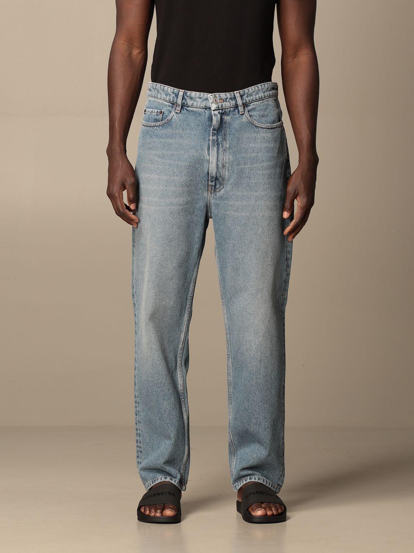 Pantalon Balenciaga: Pantalon homme Balenciaga denim 1
