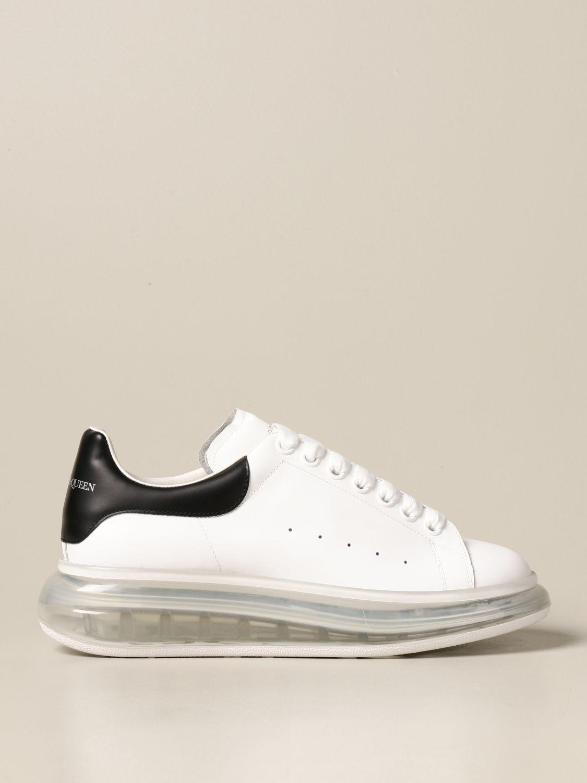 Sneakers Alexander Mcqueen: Sneakers Alexander McQueen in pelle bianco 1