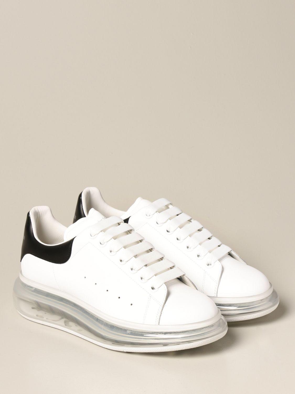 Sneakers Alexander Mcqueen: Sneakers Alexander McQueen in pelle bianco 2