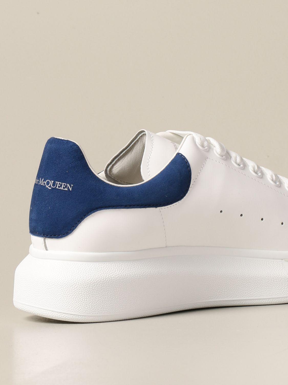 Sneakers Alexander Mcqueen: Sneakers Alexander McQueen in pelle con logo bianco 1 3
