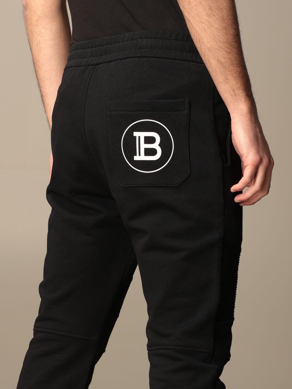 Pantalon Balmain: Pantalon homme Balmain noir 5