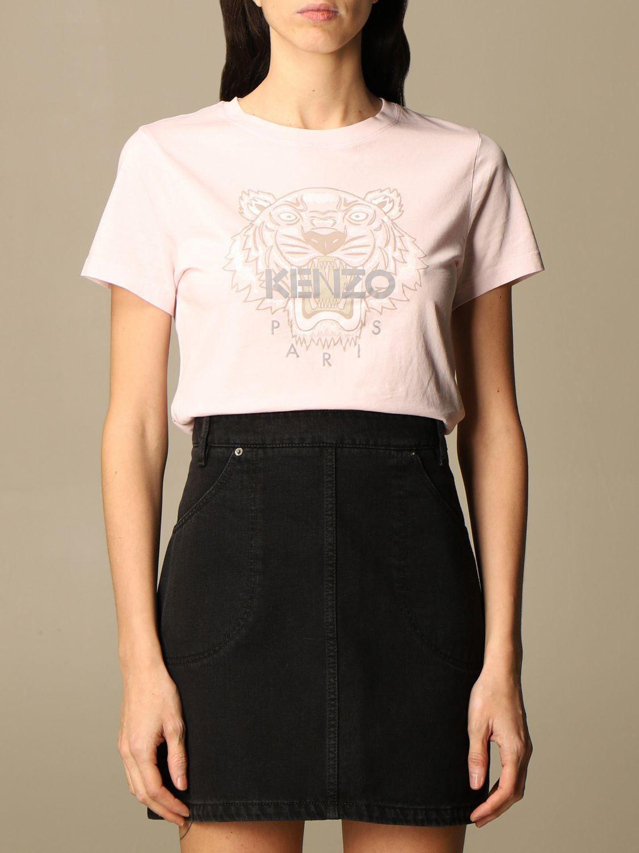 T-Shirt Kenzo: T-shirt damen Kenzo pink 1