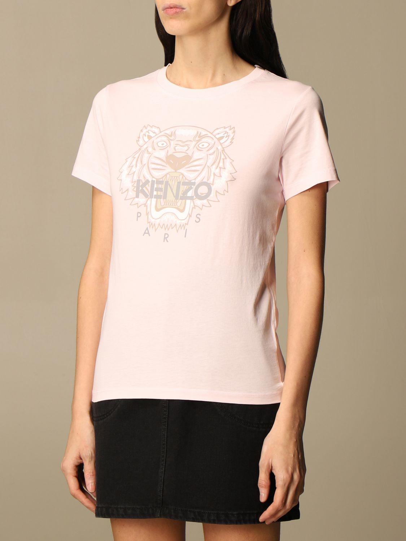 T-Shirt Kenzo: T-shirt damen Kenzo pink 4