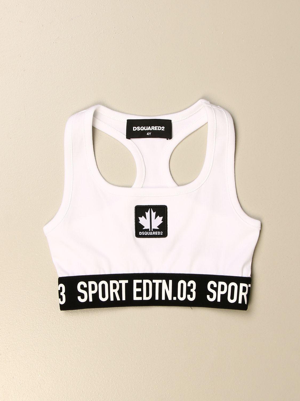 上衣 Dsquared2 Junior: T恤 儿童 Dsquared2 Junior 白色 1