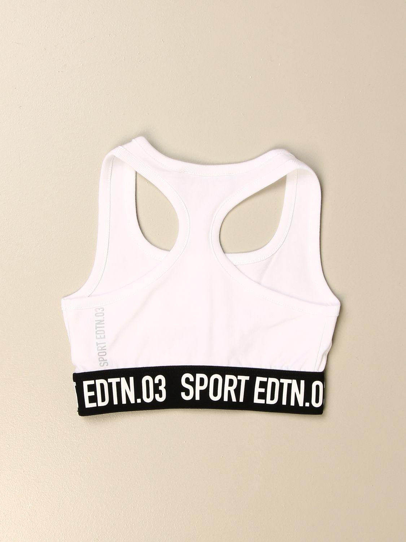 上衣 Dsquared2 Junior: T恤 儿童 Dsquared2 Junior 白色 2