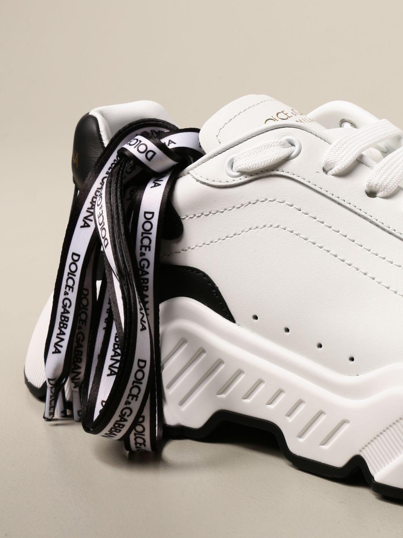 Zapatillas Dolce & Gabbana: Zapatillas hombre Dolce & Gabbana blanco 4