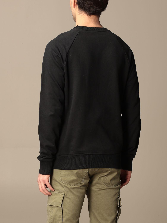 Sweatshirt Balmain: Balmain cotton sweatshirt with logo black 3