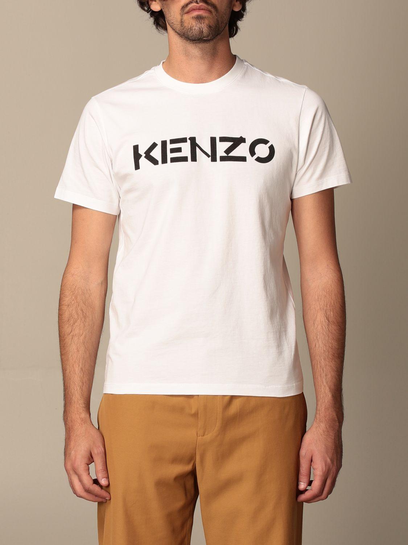T-shirt Kenzo: T-shirt homme Kenzo blanc 1