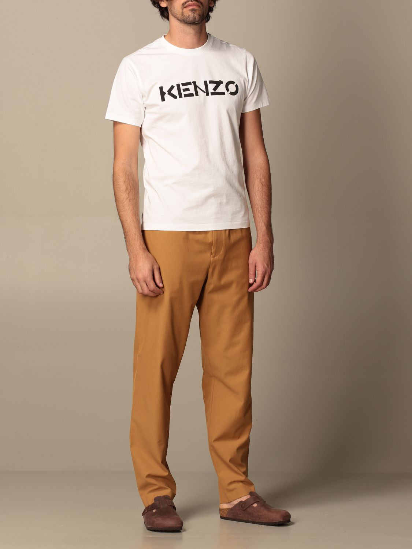T-shirt Kenzo: T-shirt homme Kenzo blanc 2