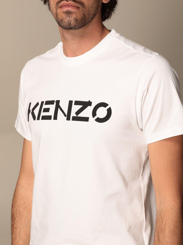 T-shirt Kenzo: T-shirt homme Kenzo blanc 4