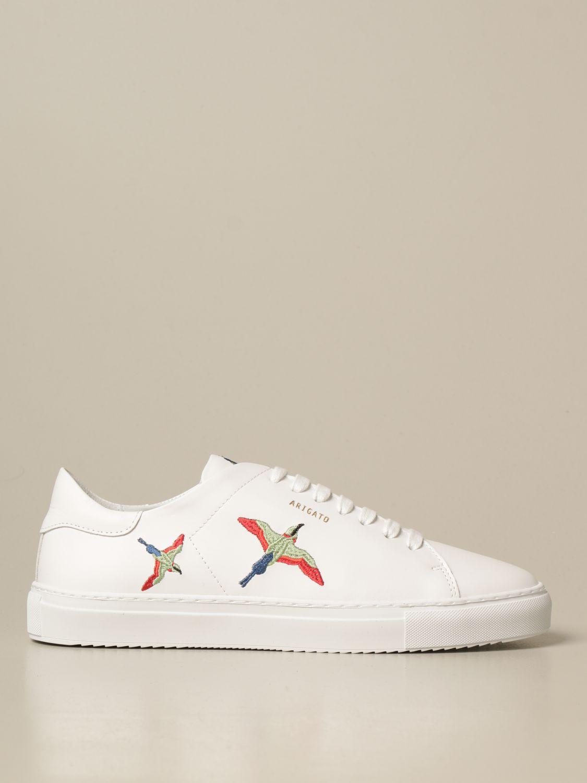 Sneakers Axel Arigato: Sneakers stringata Axel Arigato in pelle con logo bianco 1