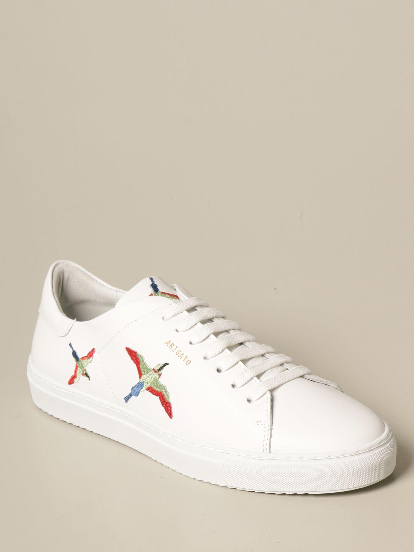 Sneakers Axel Arigato: Sneakers stringata Axel Arigato in pelle con logo bianco 2