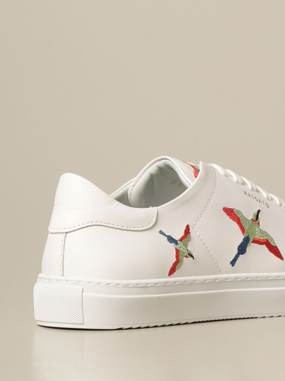 Sneakers Axel Arigato: Sneakers stringata Axel Arigato in pelle con logo bianco 3