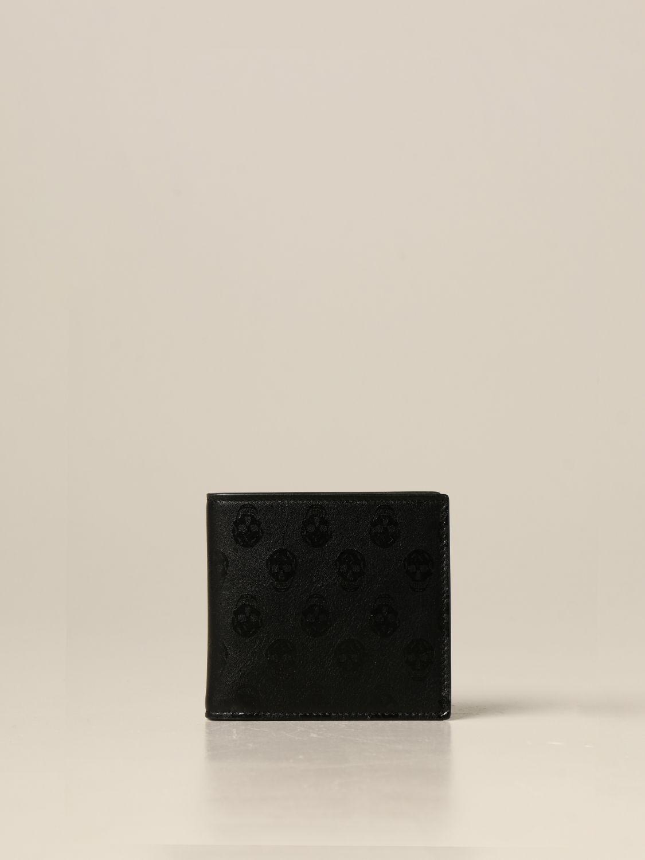Wallet Alexander Mcqueen: Wallet men Alexander Mcqueen black 1