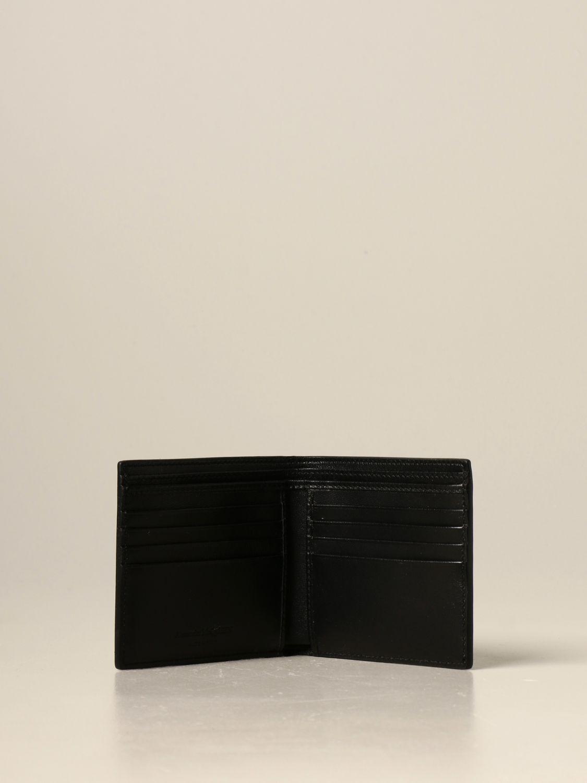 Wallet Alexander Mcqueen: Wallet men Alexander Mcqueen black 2