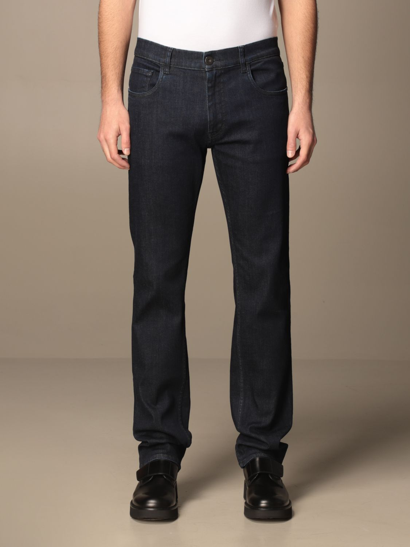 Jeans Prada: Jeans Prada a 5 tasche in denim di cotone blue 1