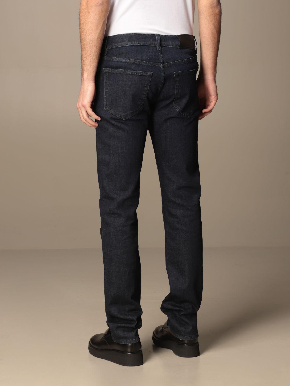 Jeans Prada: Jeans Prada a 5 tasche in denim di cotone blue 2