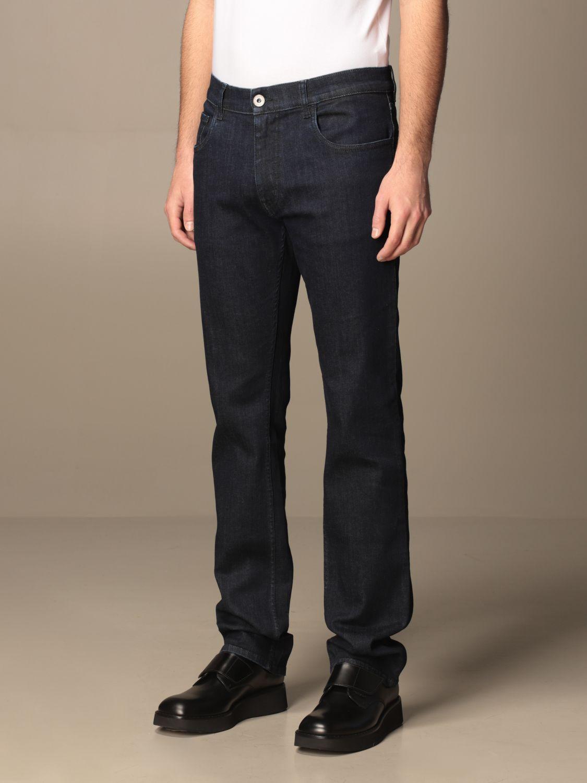 Jeans Prada: Jeans Prada a 5 tasche in denim di cotone blue 3
