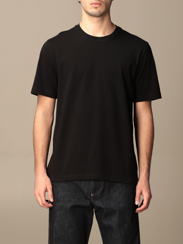 T-shirt Bottega Veneta: Bottega Veneta basic cotton T-shirt salmon 1