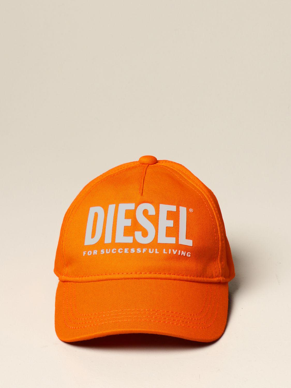 Gorro Diesel: Gorro niños Diesel naranja 2