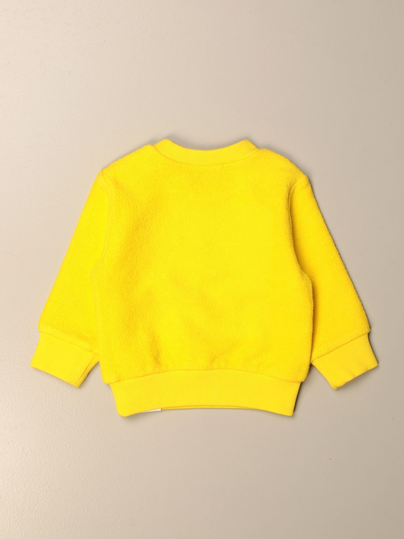 Maglia Dsquared2 Junior: Felpa Dsquared2 Junior in cotone con logo giallo 2