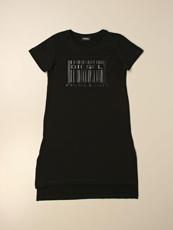 连衣裙 Diesel: 连衣裙 儿童 Diesel 黑色 1