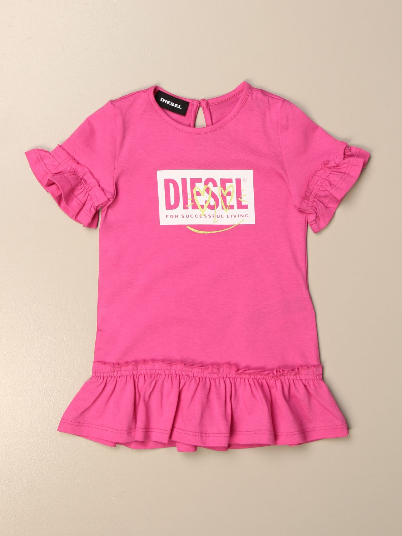 Комбинезон Diesel: Комбинезон Детское Diesel розовый 1