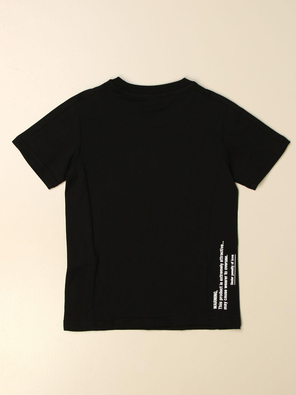 T-shirt Diesel: Diesel cotton t-shirt with logo black 2