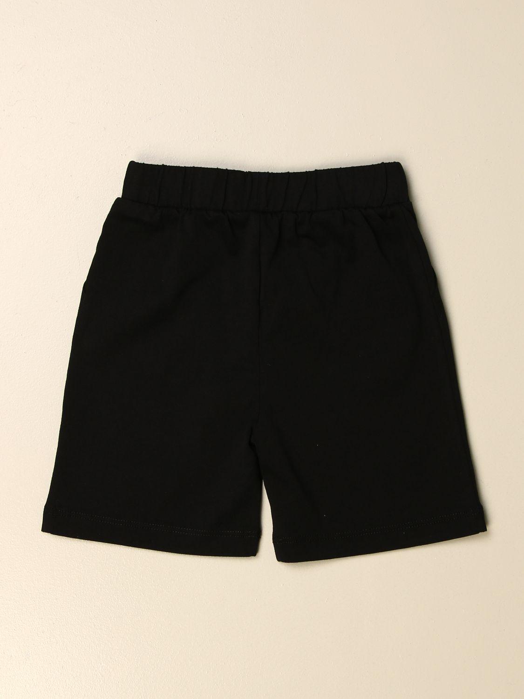 Pantaloncini Marcelo Burlon: Pantaloncino jogging Marcelo Burlon con logo nero 2