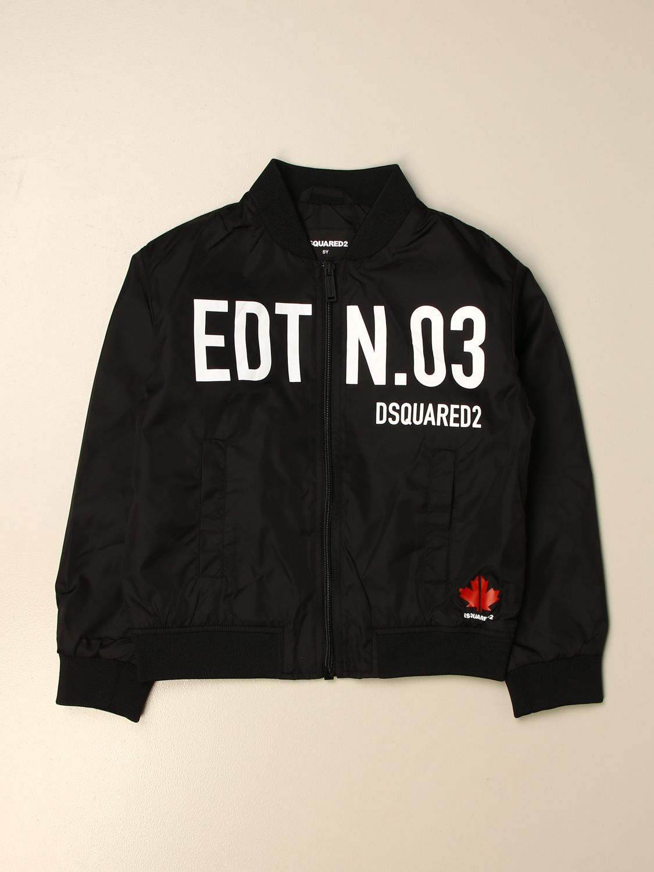 Куртка Dsquared2 Junior: Куртка Детское Dsquared2 Junior черный 1