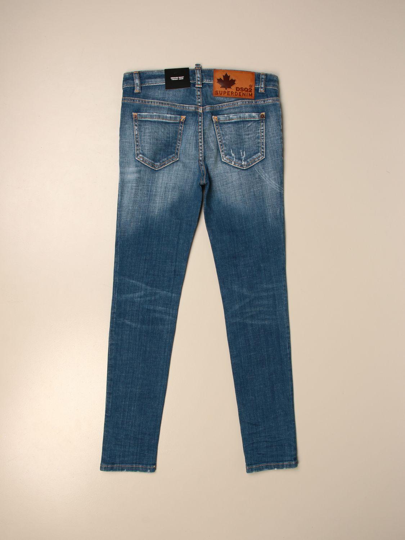 Jeans Dsquared2 Junior: Dsquared2 Junior jeans in used denim blue 2