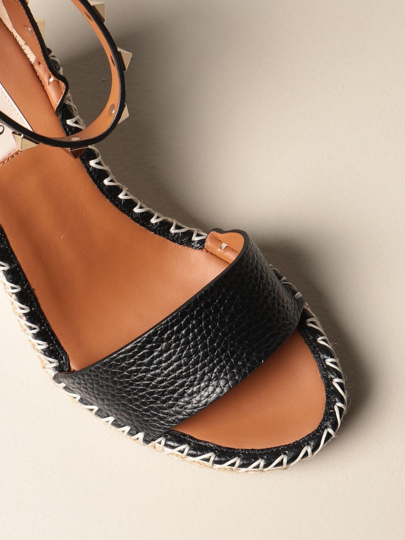 Sandalen mit Absatz Valentino Garavani: Sandalen mit absatz damen Valentino Garavani schwarz 4