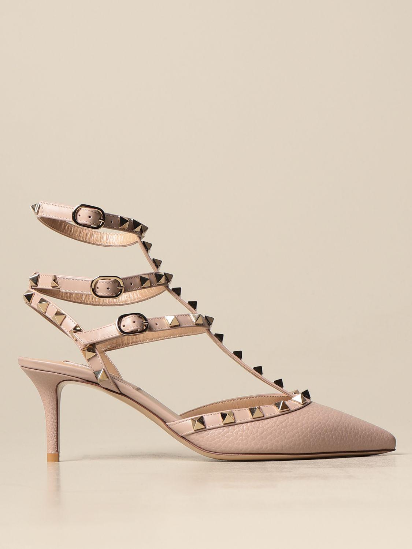 Sandalen mit Absatz Valentino Garavani: Sandalen mit absatz damen Valentino Garavani pink 1