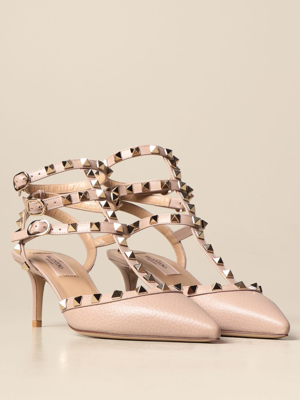 Sandalen mit Absatz Valentino Garavani: Sandalen mit absatz damen Valentino Garavani pink 2