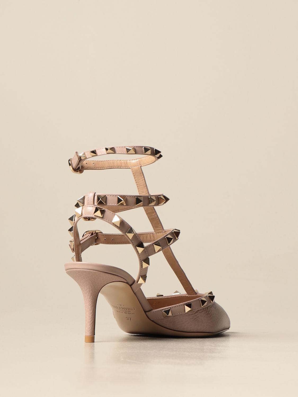 Sandalen mit Absatz Valentino Garavani: Sandalen mit absatz damen Valentino Garavani pink 3