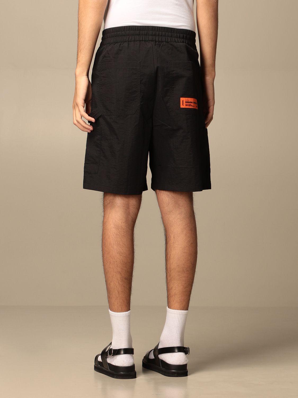 Pantalones cortos Heron Preston: Pantalones cortos hombre Heron Preston negro 2