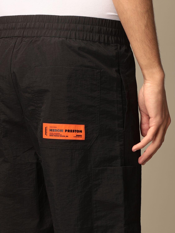 Pantalones cortos Heron Preston: Pantalones cortos hombre Heron Preston negro 4