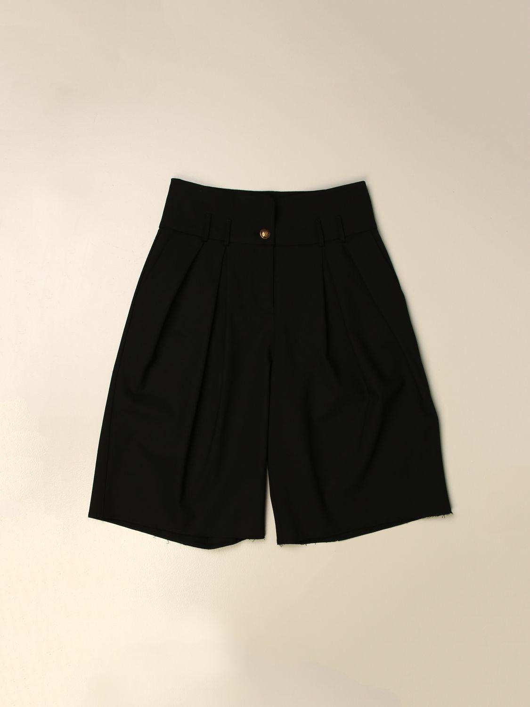 Pantalones cortos Balmain: Pantalón niños Balmain negro 1