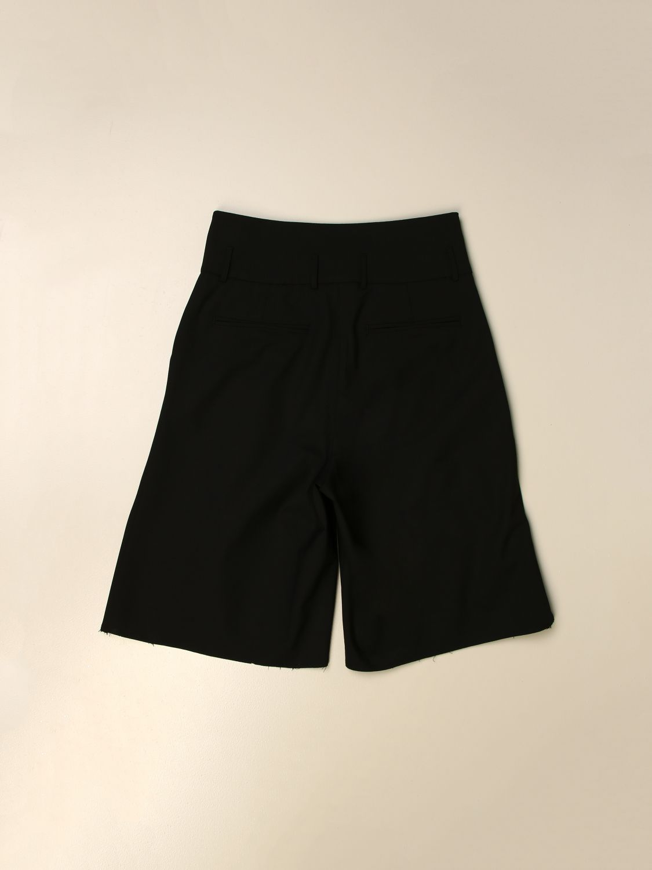 Pantalones cortos Balmain: Pantalón niños Balmain negro 2