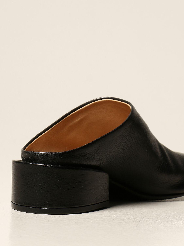 Sandalen mit Absatz Marsell: Flache sandalen damen Marsell schwarz 3
