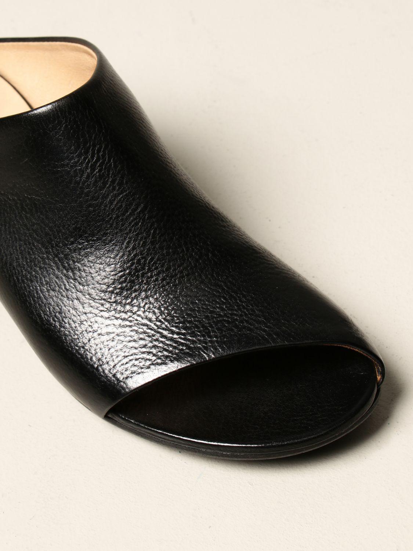 Sandalen mit Absatz Marsell: Flache sandalen damen Marsell schwarz 4