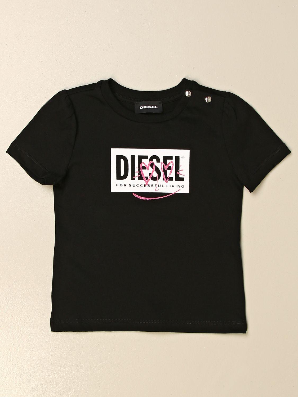 Camiseta Diesel: Jersey niños Diesel negro 1